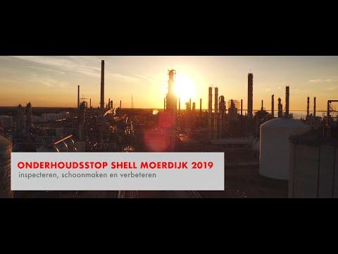 Onderhoudsstop Shell Moerdijk 2019