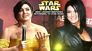 Gina Carano Responds To Returning For Star Wars! Get Ready For This (Star Wars Explained)
