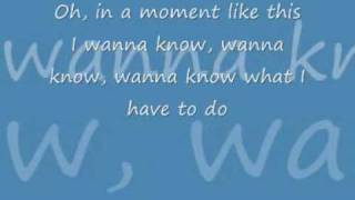 In a moment like this-Denmark (lyrics)