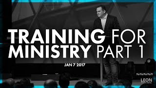 Training For Ministry Part 1