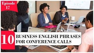 10 Business English Phrases for Conference Calls