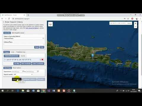 How to download data Landsat 8 on USGS (AKUISISi DATA SATELIT)
