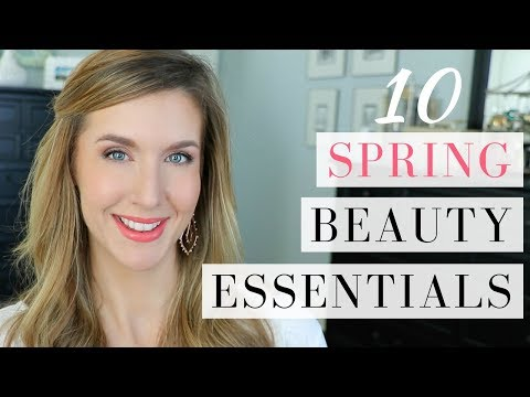 video thumbnail SPRING BEAUTY ESSENTIALS 2018 |10 Must Have Products