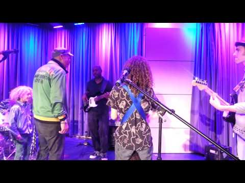 "Bob Marley -  ""Jammin""  by Rhythm Child (sound check at The Grammy Museum)"