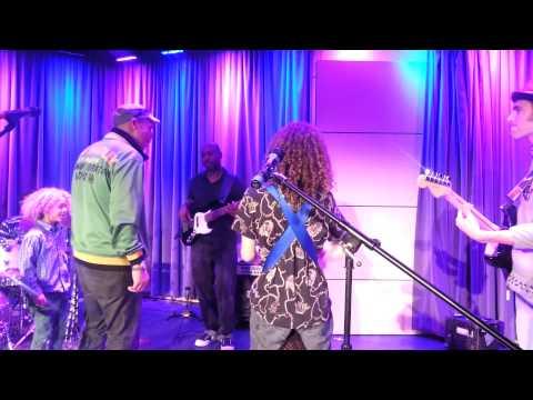 "Bob Marley -  ""Jammin""  by Rhythm Child (sound check at The Grammy Museum)"