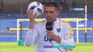 ¿Cuál fue el mejor gol de Riquelme en la Bombonera?