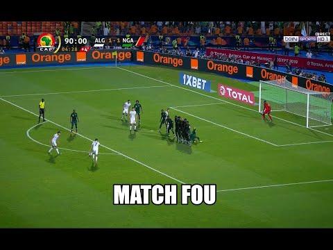 Algérie vs Nigéria (2-1) can 2019 . présentateur du BEIN SPORTS  pleure de joie .