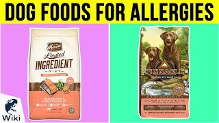 10 Best Dog Foods For Allergies 2019