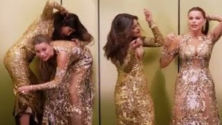 Priyanka Chopra & Sofia Vergara CAUGHT In Compromising Position  Golden Globe Awards