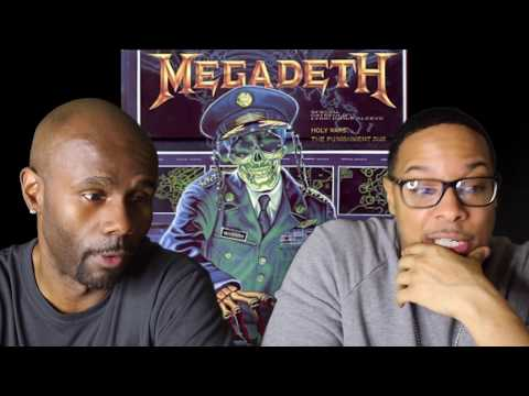 Megadeth – Holy Wars…The Punishment Due (REACTION!!!)
