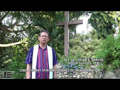 Lenten Message from the General Secretary