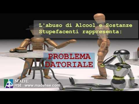 Sessione di video di codificazione da alcolismo
