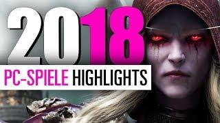 Top Neue PC Spiele 2018 / PC Releases 2018 - Unsere PC Spiele-Highlights für 2018