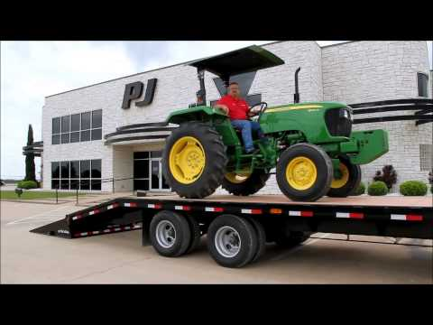 2019 PJ Trailers Low-Pro Flatdeck with Singles (LS) 36 ft. in Hillsboro, Wisconsin - Video 1