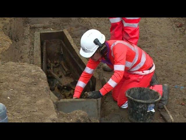 اكتشاف مقبرة في لندن تحتوي رفاة عشرات آلاف الاشخاص منذ القرن 18