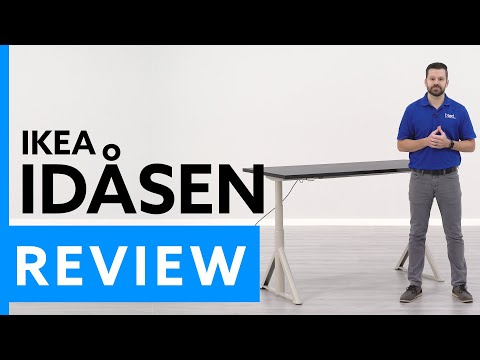 IKEA Idasen Electric Sit/Stand Desk Review