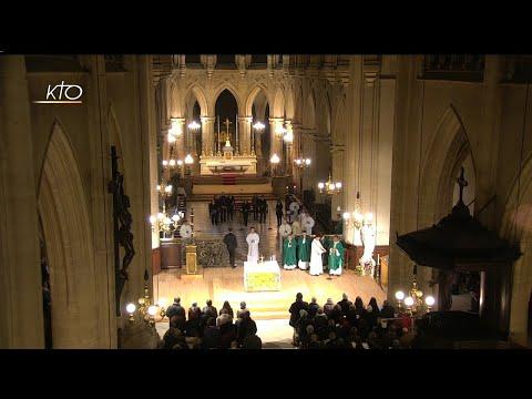 Messe du 19 janvier 2020