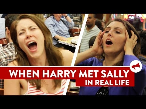 Harry Met Sally Orgasm Scene Prank – Movies In Real Life (Ep 7)