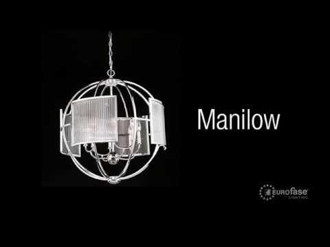 Video for Manilow Brass 25.5-Inch 8-Light Chandelier