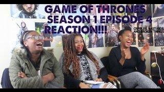 Game of Thrones REACTION Season 1 Episode 4  Cripples, Bastards, and Broken Things