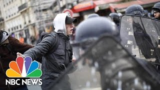 Protests In Paris Over Alleged Police Rape | NBC News