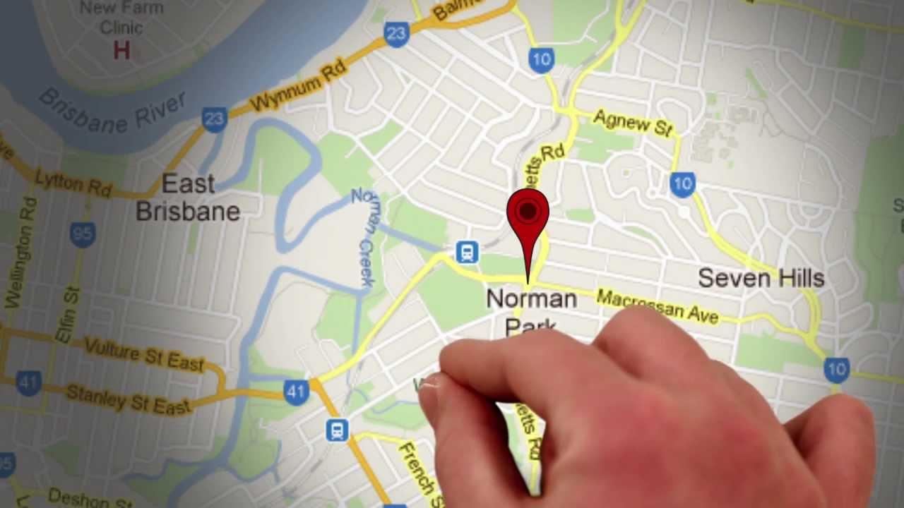 Standbild aus Präsentationsvideo: Hand auf Karte