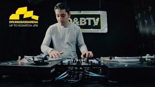 JFB - Drum & Bass Turntablist DJ 10min Mix