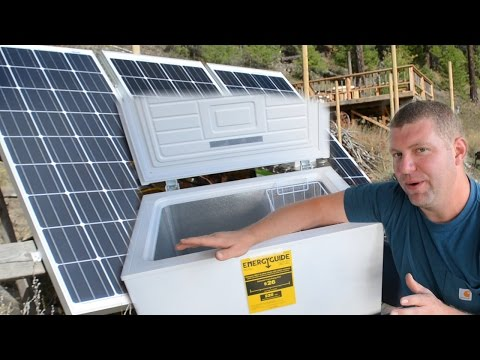 DUDE… We Got a CHEST FREEZER! (Appliances & Off Grid Living)