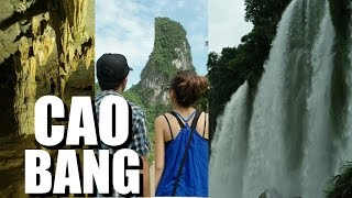 VIETNAM TRAVEL: STUNNING Caves and Waterfalls in Cao Bang: The Most Beautiful Province