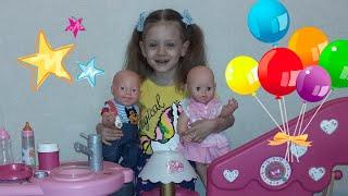 Есения и ее куклы