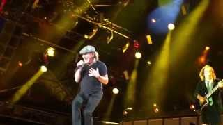 AC/DC - HELL AIN'T A BAD PLACE TO BE live at Dresden - 10.05.15 - Rock or Bust Worldtour