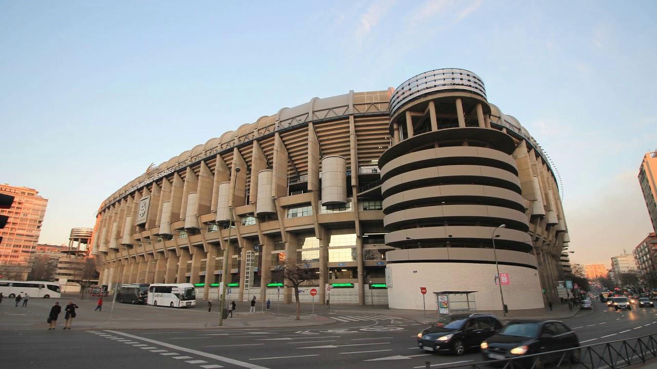 Estadio Santiago Bernabeu, Santiago Bernabeu Stadium, madrid, spain