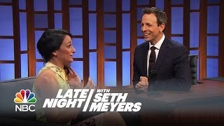 Jenny Slate Gets Awkward at Her Old High School - Late Night with Seth Meyers