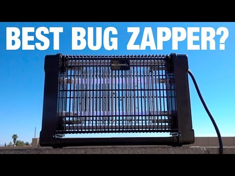 2 As Seen on TV Bug Zappers Compared!