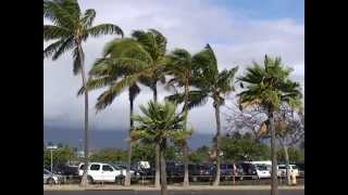 preview picture of video 'Hawaii MAUI DRIVE / Maui 2:Kahului Airport  / マウイ島:カフルイ空港'