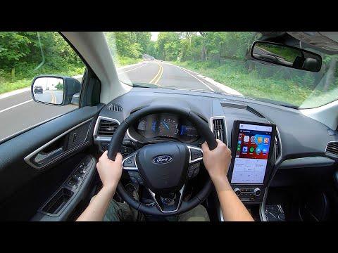 2021 Ford Edge SEL AWD - POV Test Drive (Binaural Audio)