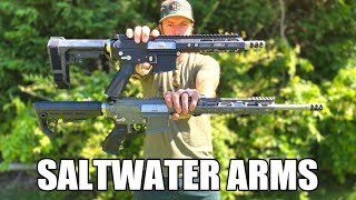 "Saltwater Arms 1115B3 Barracuda Maritime Corrosion-Resistant AR-15 Rifle - 5.56 NATO 30rd 16"" 1:8 Twist Barrel"
