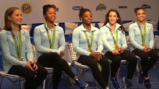 Olympics   Simone Biles, Final Five Olympic Interview