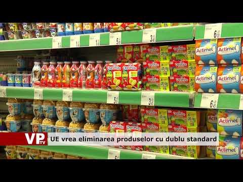 UE vrea eliminarea produselor cu dublu standard