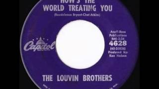 The Louvin Brothers ~ How's The World Treating You