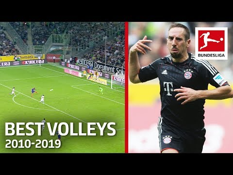 Top 10 Best Volley Goals of The Decade 2010-2019 - Vidal, Gnabry, Ribery & More