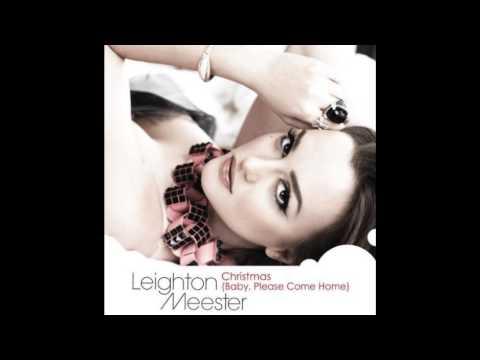 leighton meester christmasbabyplease come home with lyrics - Christmas Baby Please Come Home Lyrics