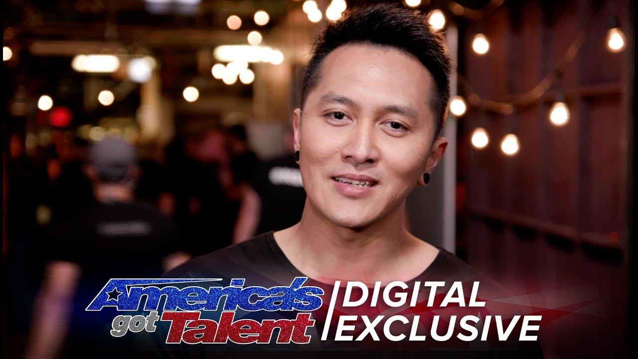 Elimination Interview: Demian Aditya Recalls His Last Performance - America's Got Talent 2017 thumbnail
