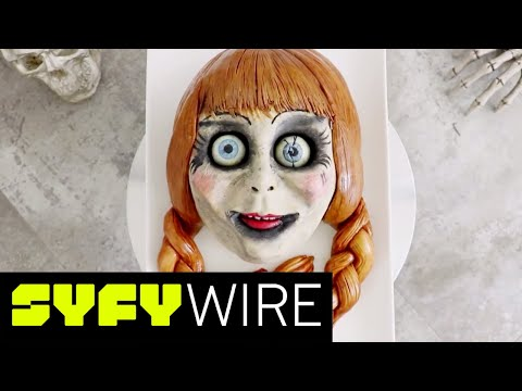 Annabelle Cake Tutorial from The Conjuring by Koalipops | SYFY WIRE