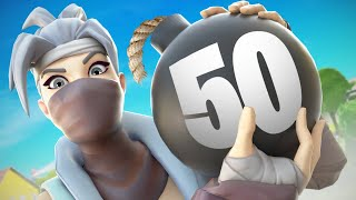 50 BOMB 💣 on 🖱️⌨️ in Solo Squads | NRG Unknown
