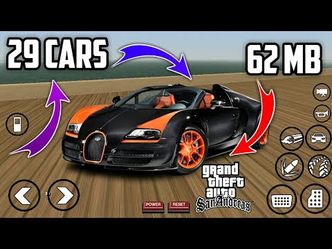 27MB] Extreme Cars MOD For GTA San Andreas Android   HD Cars