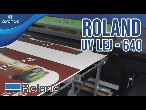 Impresora Híbrida de Cama Plana Roland Versa UV LEJ - 640