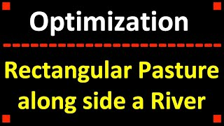 Calculus 1: Optimization Problem