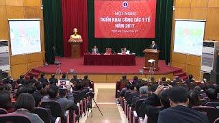 Thủ tướng dự Hội nghị triển khai công tác năm 2017 của ngành y tế