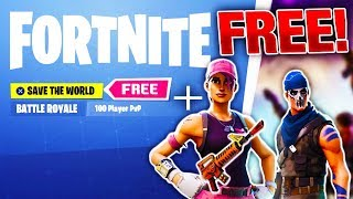 Fortnite FREE Save The World RELEASE DATE + SECRET FREE SKINS! | Fortnite Save the World